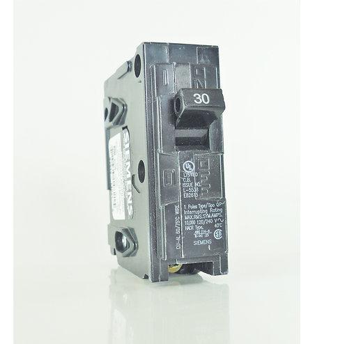 Siemens Q130 30-Amp 1 Pole 120V Circuit Breaker
