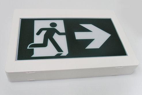 SUNPETRA Thermoplastic Running Man Sign