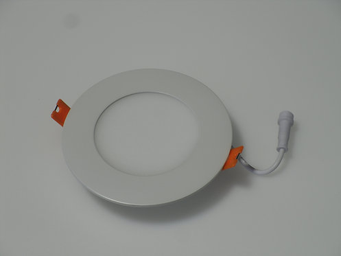 "LED Slim Panel - 4"" - 4000K - White (Round)"