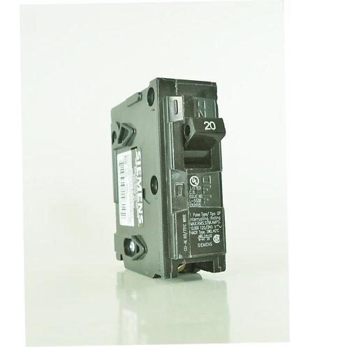 Siemens Q120 20-Amp 1 Pole 120V Circuit Breaker