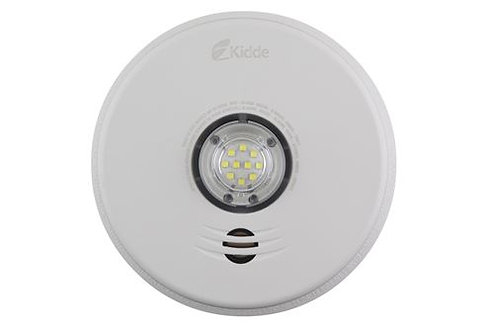 3-in-1 LED Strobe, Talking Smoke and Carbon Monoxide Alarm - P4010ACLEDSCOCA