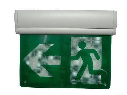 Thermoplastic Running Man Sign Edge Lit