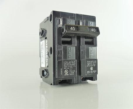 Siemens Q240 40-Amp 2 Pole 120/240V Circuit Breaker