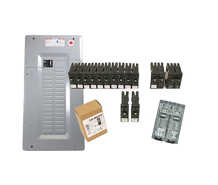 Siemens 100A Panel Package-1 - 19 Poles
