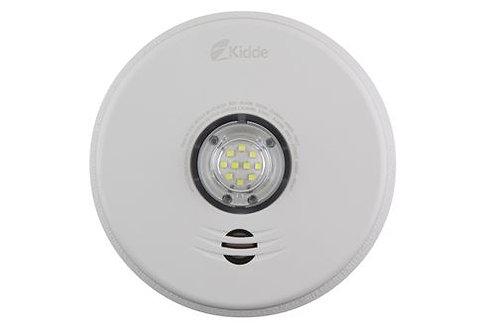 Kidde 2-in-1 LED Strobe and Talking Smoke Alarm