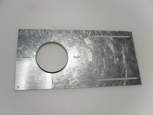Plaster Plate - 4 inch - with lip