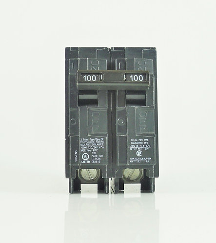 Siemens Q2100 100-Amp 2 Pole 120/240V Circuit Breaker
