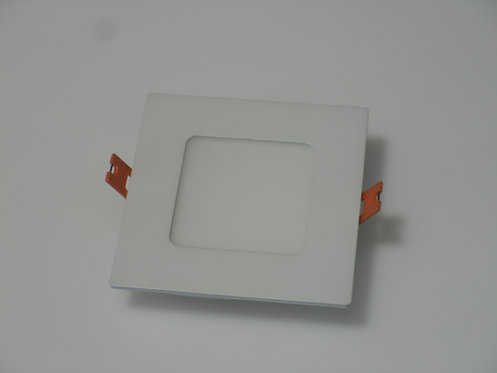 "LED Slim Panel - 4"" - 3000K - White (Square)"