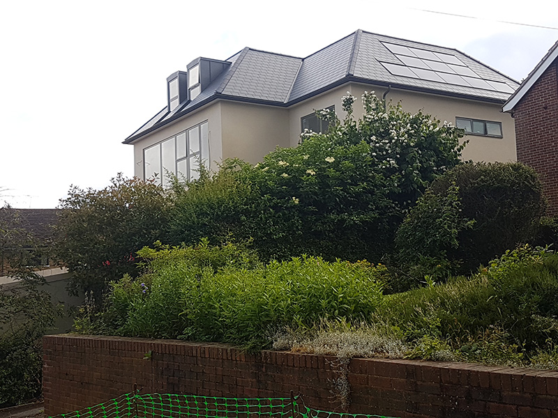 Esher view front construction