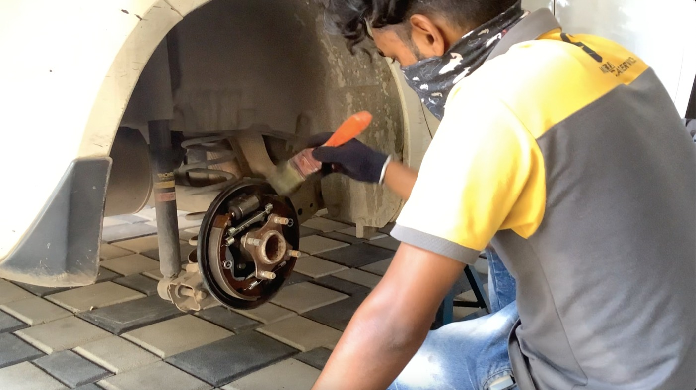 Brake & Brake-shoe Check