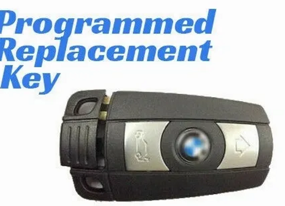 BMW E SERIES NEW KEY PROGRAMMING SERVICE