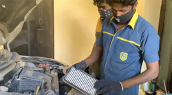 Air Filter Clean-up