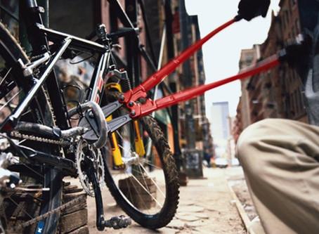 Entre el 2016 y el 2018 el robo de bicicletas ha ido en aumento y en lo que del 2019 se han denuncia