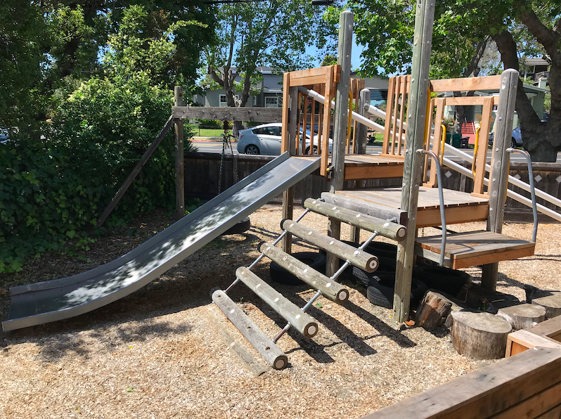 Outside play structure