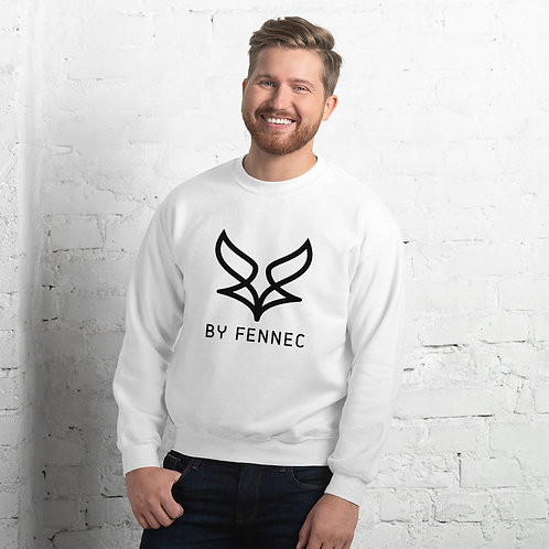 Sweat-shirt Blanc Homme BY FENNEC