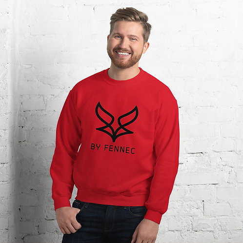 Sweat-shirt Rouge Homme BY FENNEC
