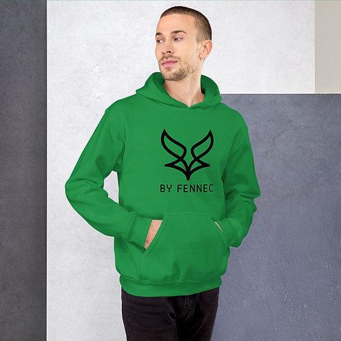 Sweat à capuche Vert Irlandais Homme BY FENNEC