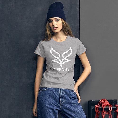 T-shirt manches-courtes ajusté Gris Chiné Femme BY FENNEC