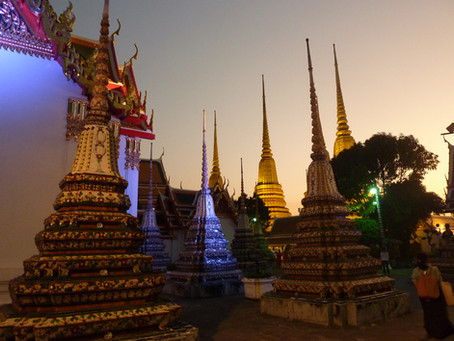 Ecole de massage Wat Po à Bangkok