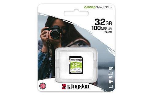"Memóriakártya, SDHC, 32 GB, CL10/U1, ""Canvas Select Plus"""