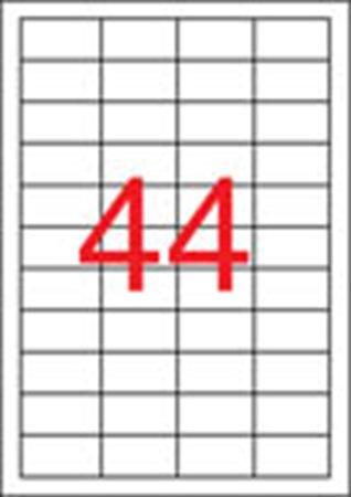 Etikett, univerzális, 48,5x25,4 mm, APLI, 22000 etikett