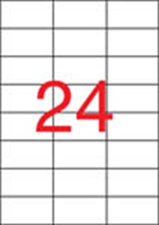 Etikett, univerzális, 70x37 mm, APLI, 12000 etikett