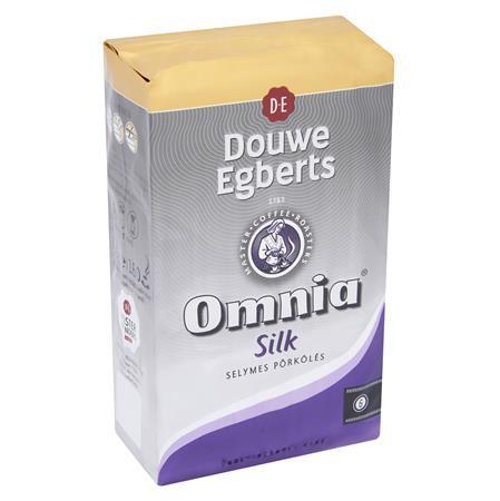 """Kávé, pörkölt, őrölt, 1000 g, DOUWE EGBERTS """"Omnia"""", silk"""