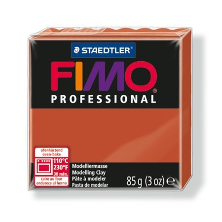 "Gyurma, 85 g, égethető, FIMO ""Professional"", terrakotta"