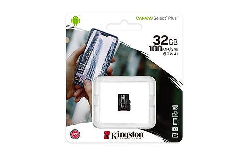 "Memóriakártya, microSDHC, 32 GB, CL10/U1/A1, ""Canvas Select Plus"""