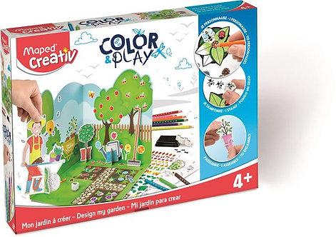 """Kreatív készségfejlesztő készlet, """"Color and Play"""""""