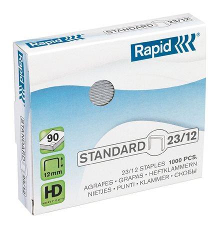 """Tűzőkapocs, 23/12, horganyzott, RAPID """"Standard"""""""