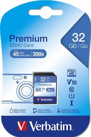 """Memóriakártya, SDHC, 32 GB, CL10/U1,""""Premium"""""""