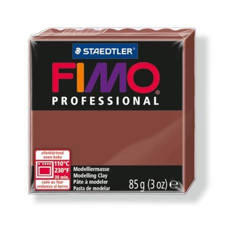 """Gyurma, 85 g, égethető, FIMO """"Professional"""", csokoládé"""