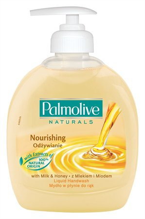 "Folyékony szappan, 0,3 l, PALMOLIVE Nourishing ""Milk and Honey"""