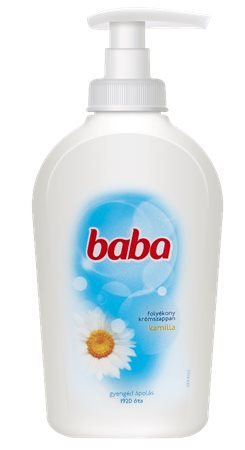 Folyékony szappan, 0,25 l, BABA, kamilla