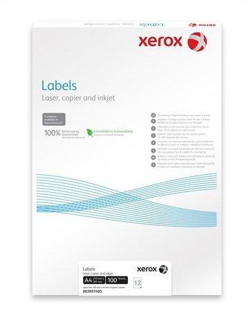 Etikett, univerzális, 105x37 mm, XEROX, 1600 etikett