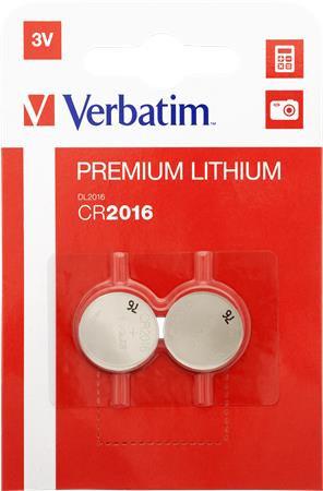 """Gombelem, CR2016, 2 db, VERBATIM """"Premium"""""""