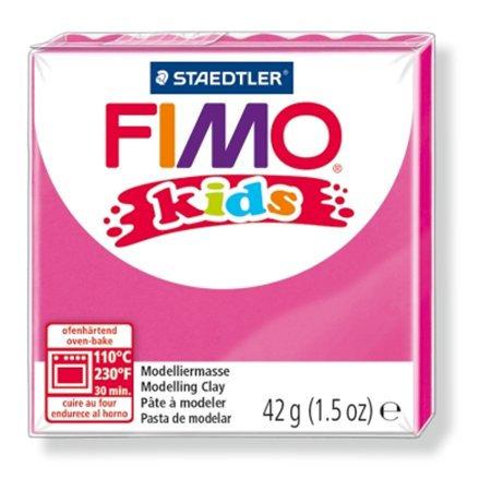 """Gyurma, 42 g, égethető, FIMO """"Kids"""", rózsaszín"""