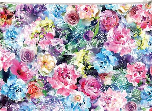 """Irattartó tasak, A4, PP, cipzáras, """"Roses"""""""