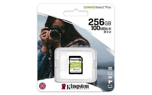 "Memóriakártya, SDXC, 256 GB, CL10/U1, ""Canvas Select Plus"""