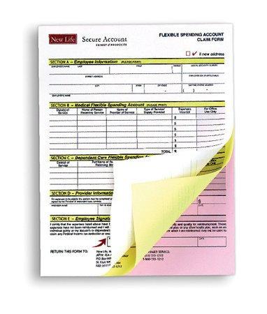 Önátíró papír, A4, 4 példányos, XEROX