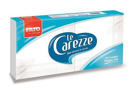 """Szalvéta, 1/8 hajtogatott, 33x33 cm, FATO """"Le Carezze"""", fehér"""