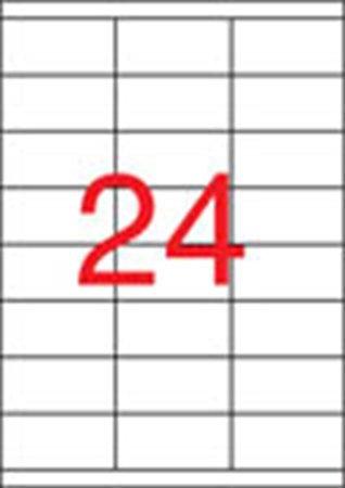 Etikett, univerzális, 70x35 mm, APLI, 2400 etikett