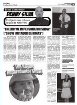 Rhyme show press article