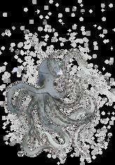 Octopus watercolour.
