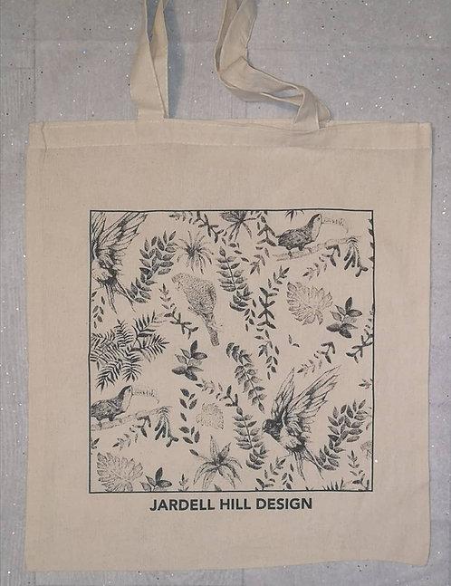 Birds Cotton Shopper Bag