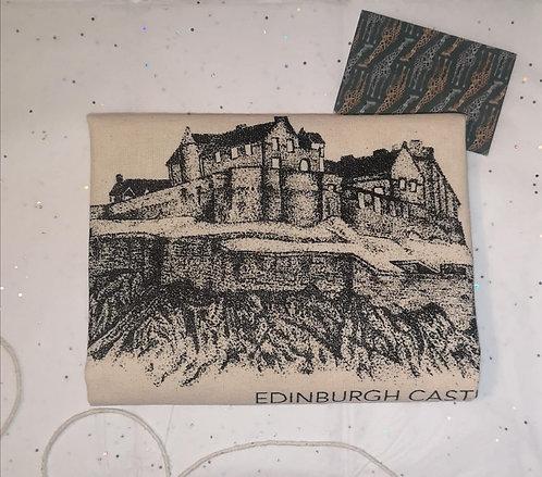 Edinburgh Castle Cotton Shopper Bag
