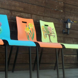 upcycled chair project