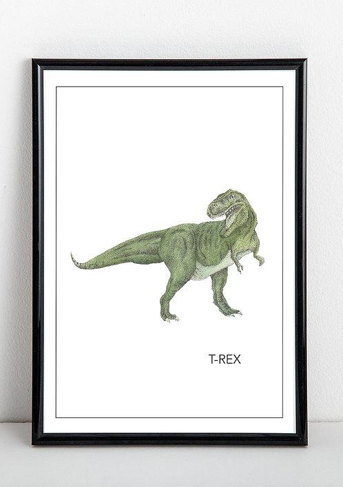 T-Rex Print