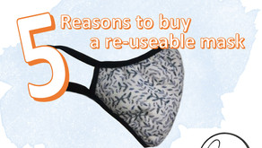 5 Reasons You Should Choose a Re-usable Facemask.